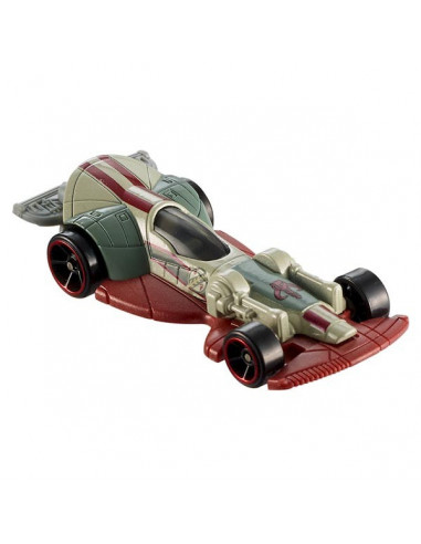 Star Wars Carships kisautó - Slave I (Boba Fett) - Hot Wheels