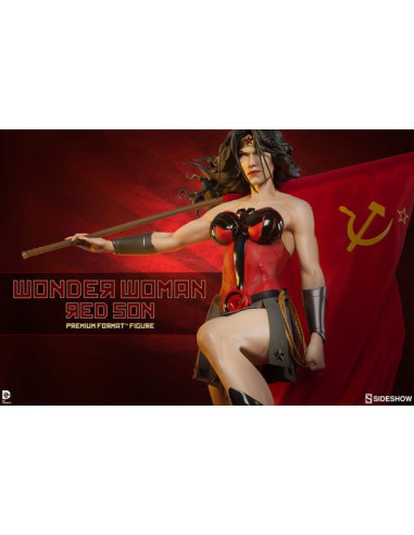 Wonder Woman Red Son Premium Format szobor - DC - Sideshow