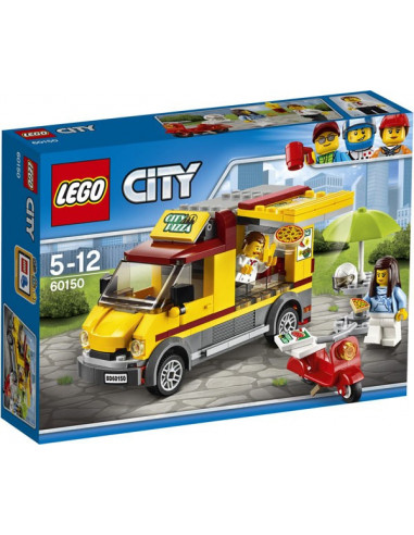 Pizzás furgon - Lego City - 60150