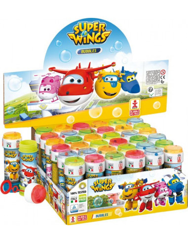 Super Wings buborékfújó - 60 ml