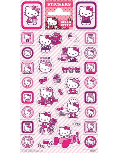 Hello Kitty matrica - 32 db-os