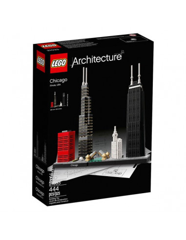 Chicago - Lego Architecture 21033