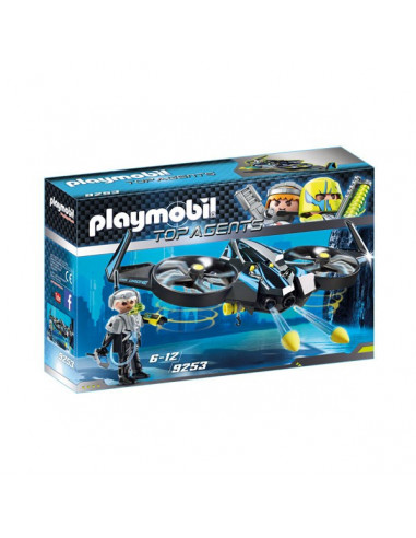 Mega Drone repülő - Top Agents - Playmobil 9253