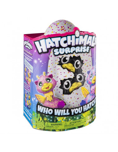 Hatchimals Surprise Giraven ikrek tojásban