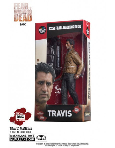 Travis figura - Fear The Walking Dead - McFarlane Toys