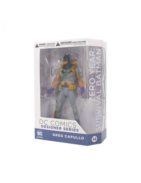 Zero Year Survival Batman figura - Greg Capullo - DC Icons - DC Collectibles